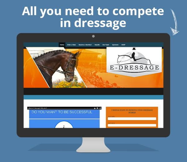 Owned by E-Dressage Ltd