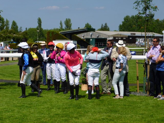 photo of some jockeys