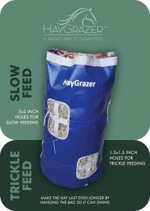 Hay grazer play tirckle feed bag for laminitis prevention