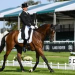 Mark Todd & NZB Campino at burghley dressage. Mark todd racing