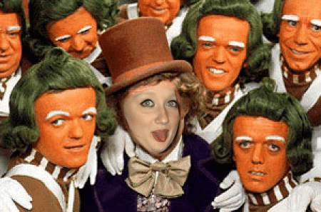 oompa loompas and me