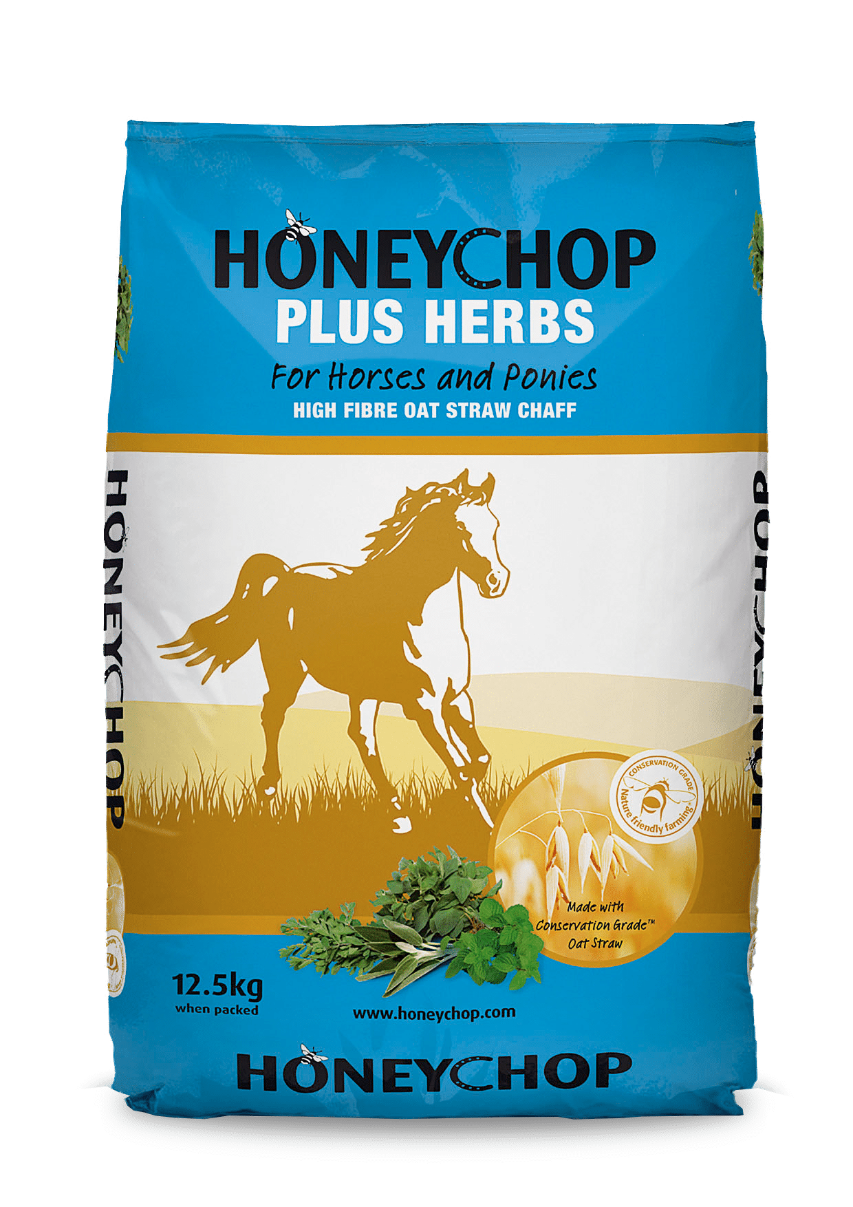 honeychop plus herbs, feeding the thoroughbred