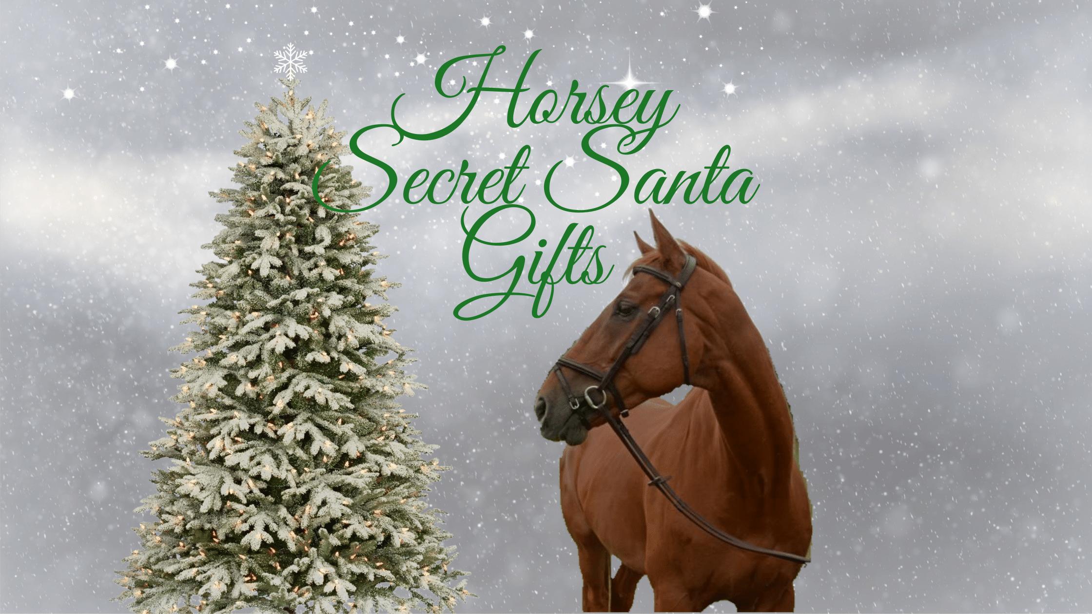 horsey secret santa gifts