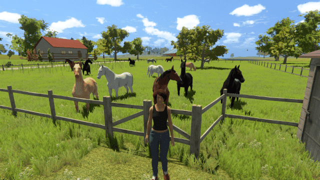 horse game my little riding champion screenshot