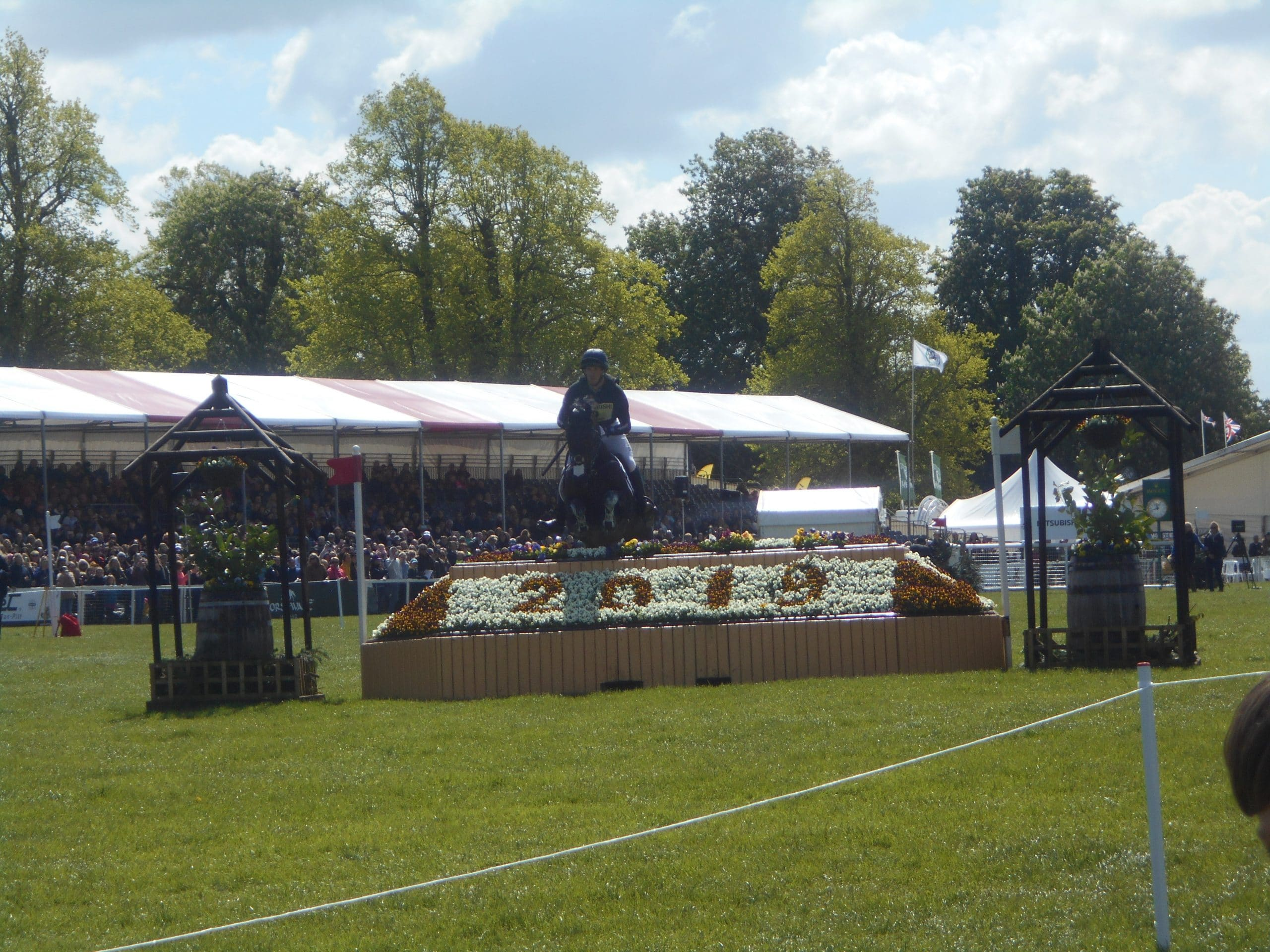 Oliver Townend Badminton Cross Country